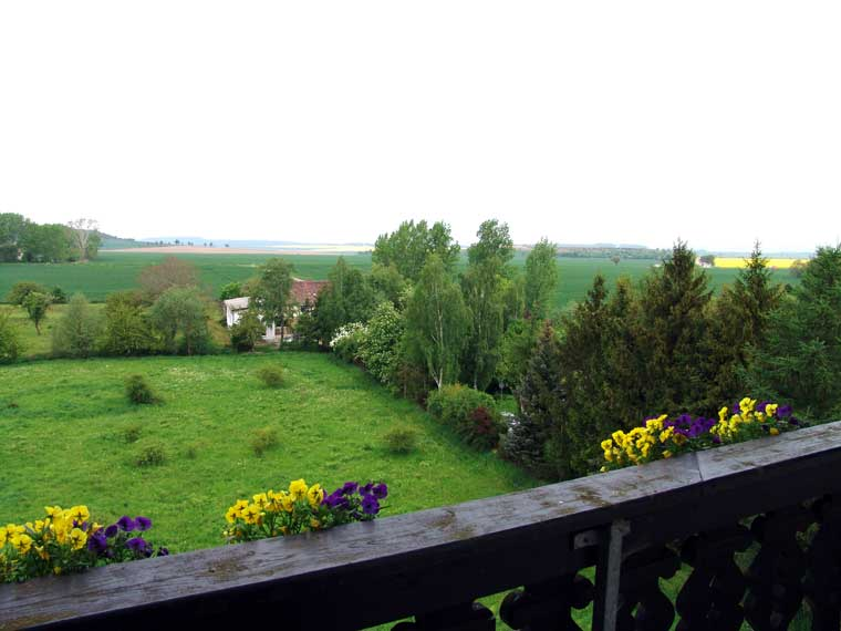 Gartenanlage -  Hotel auf der Hohe in Ballenstedt